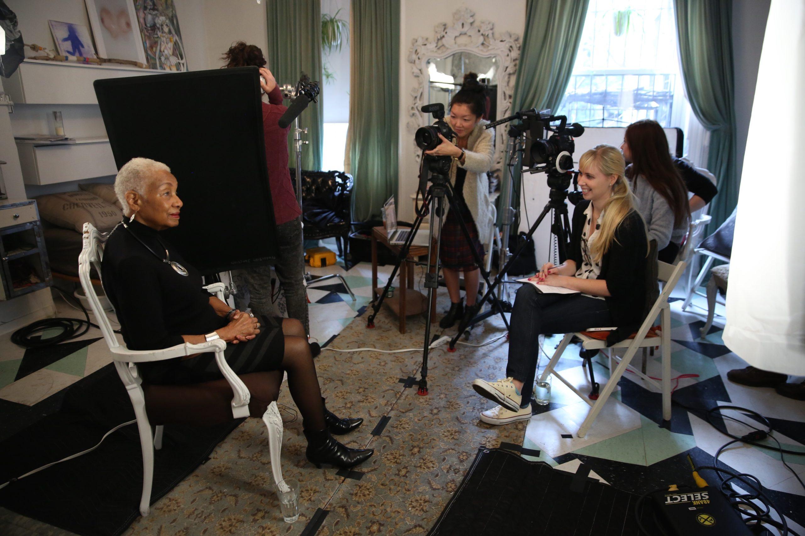 Film production on female entrepreneurs and feminism