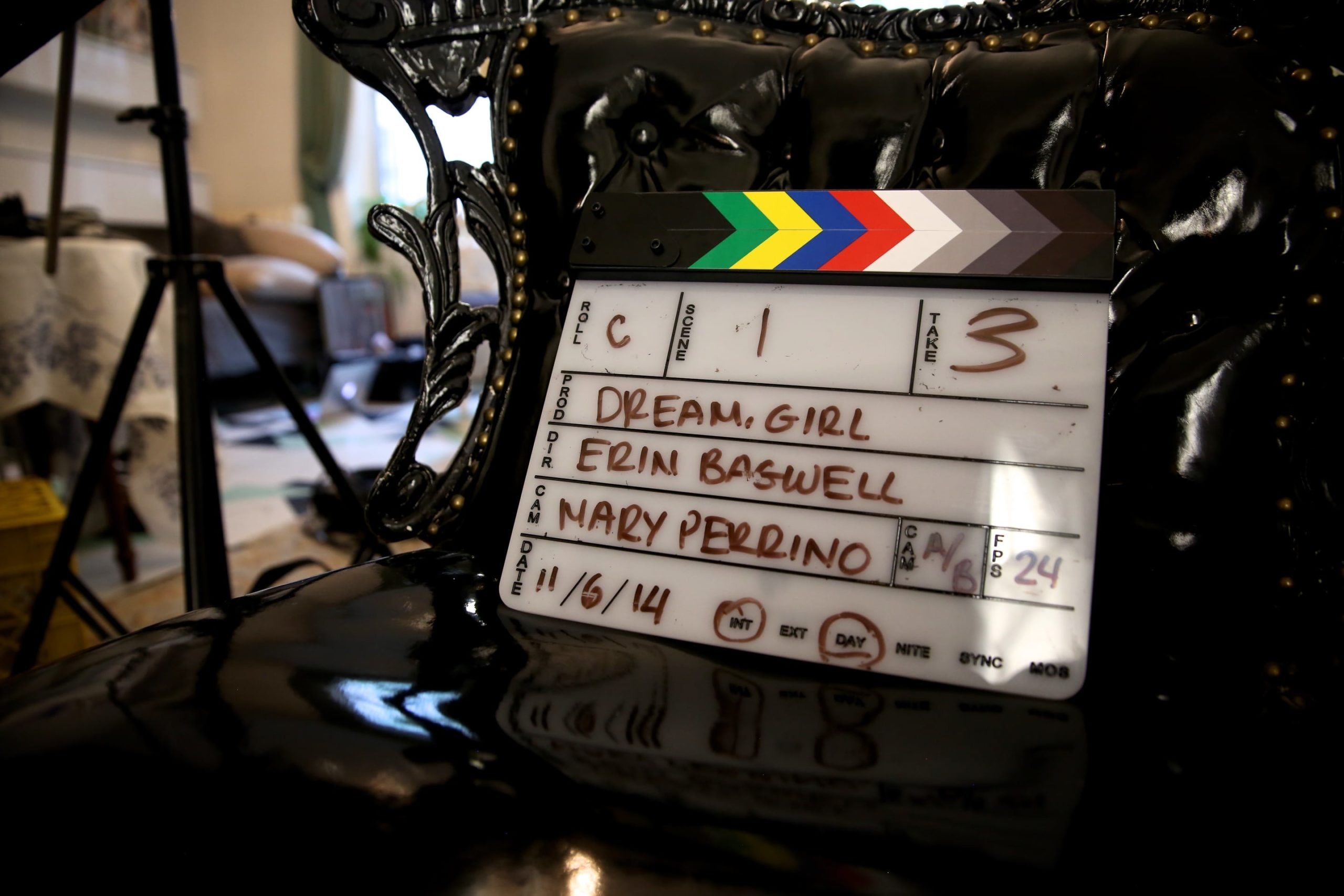 Clapperboard - Film production on female entrepreneurs and feminism