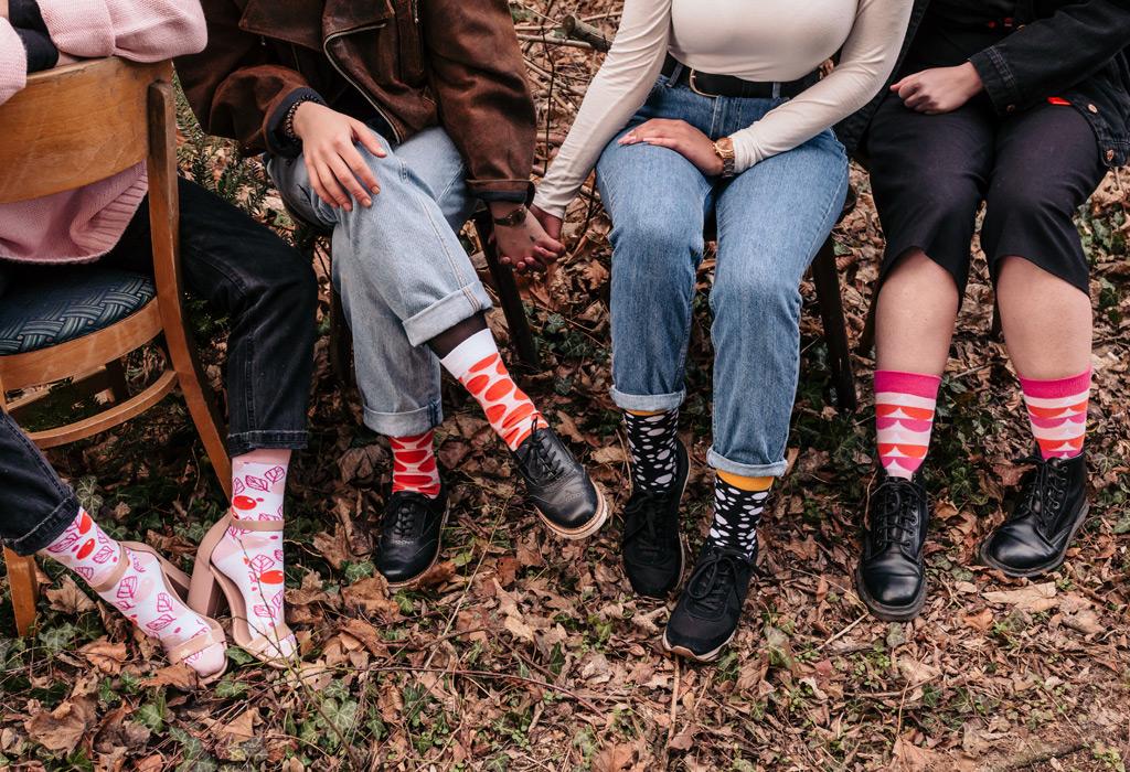 sisu socks on women @ Lucas Ottone