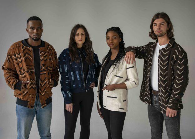 Ethical fashion Utamu models