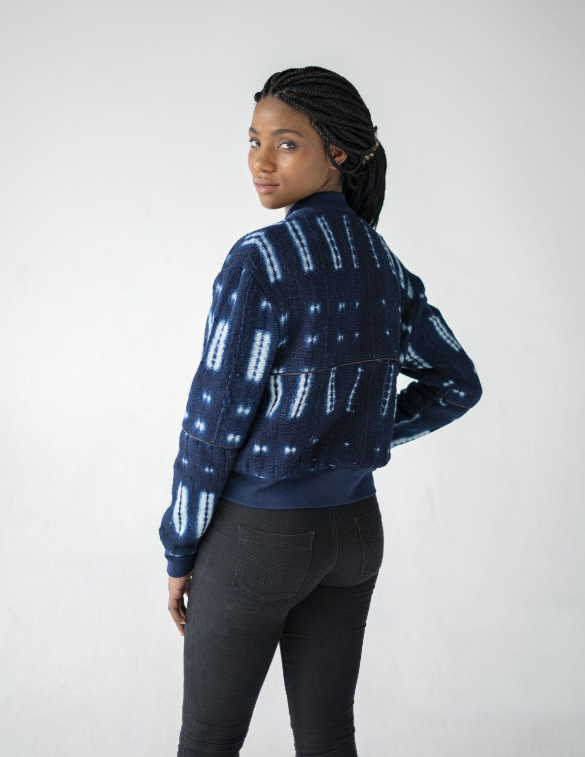 Ethical fashion model Utamu