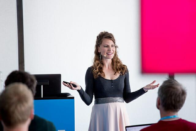 Entrepreneur Tanja Lau Speaking