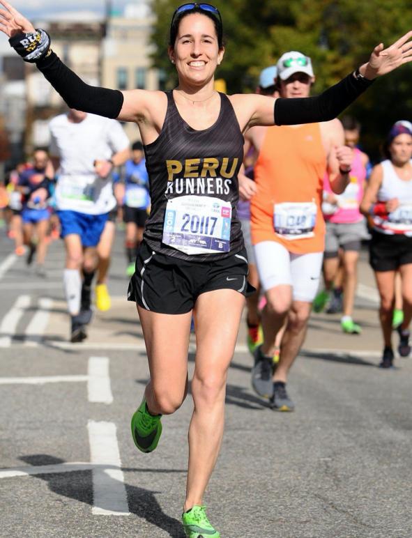 Alejandra Rodriguez running