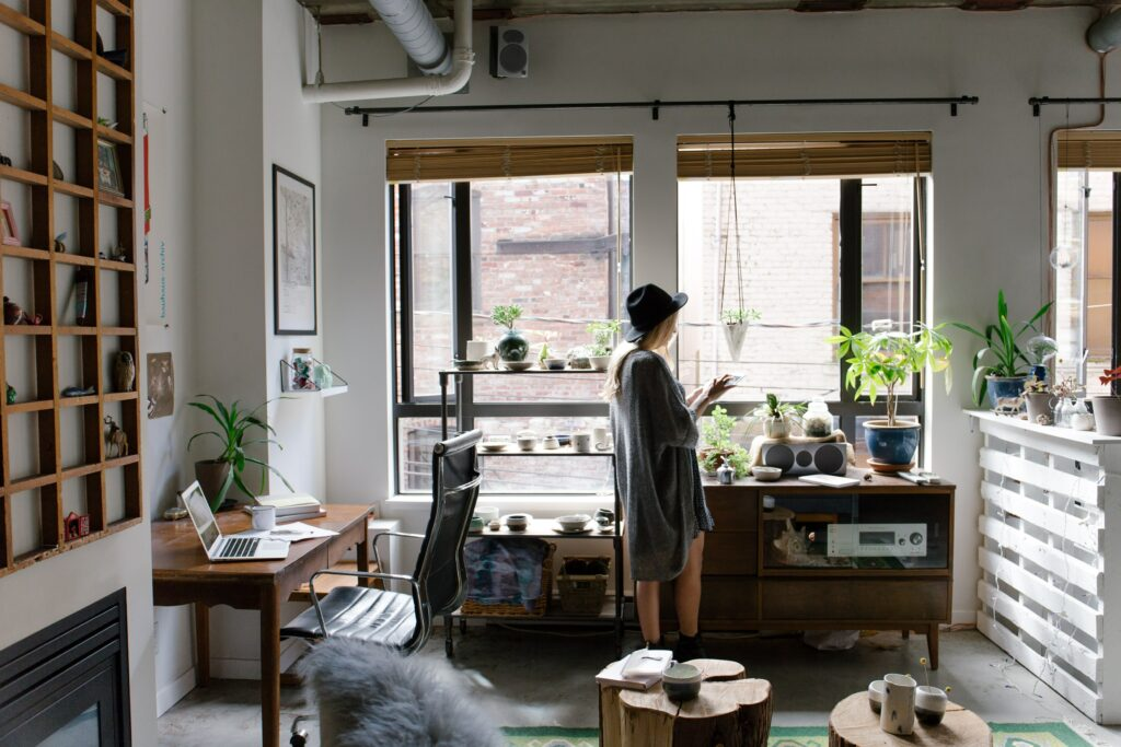 Improve home office for more productivity